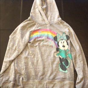 Minnie Mouse rainbow hoodie